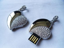 wedding flash drive favors usb, heart usb flash drive for wedding, wedding gift usb flash drive