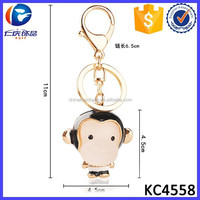 Made In Korea Products Cute Resin Monkey Car Pendant Key Chain