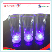 2014 fashionable logo custom led cup/pub supplies drinking blinking cup