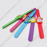 Cartoon Slap Band Silicon Watches Kid Watches(WACH-G001-M)