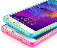 Luxury Dual Color Aluminum Bumper Case For Samsung Galaxy Note 4 N9100/Note 3 N9000/Note 2 N7100