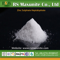 China supplier agriculture grade price zinc sulphate heptahydrate
