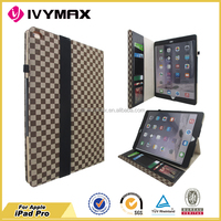 hybrid protective PU leather case for I pad pro flip cover factory accessories