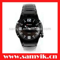 8111# CURREN brand Japan quartz watch men watch steel watch