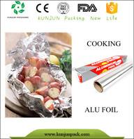Customized Colorful Wholesale Household Kitchen Foil Wrap Aluminum Wrap