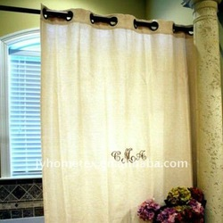 100%cotton printing curtain