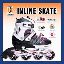 Hottest Sale Chinese Factory Four Wheel Buckle Inline Roller Skates, City Run Skate Shoes