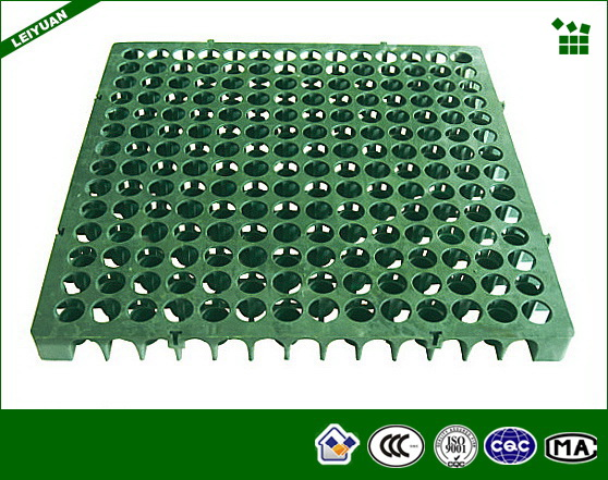 Polypropylene Drainage Cell : Elegant recycled plastic drain cells for green roofing