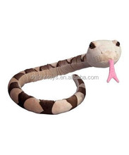 large snake plush stuffed animal