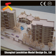 wood material house model by China supplier