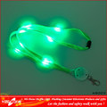 Led lanyard LED llavero, moda lindo acollador dominante, lanyard material