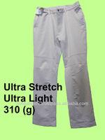 womens slack pants 2 way stretch waist stretch light 310 grams