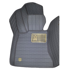 2015 Leather Surrounded By Whole Floor MATS, Sunflower Series Can Be Customized Car Trunk Mat