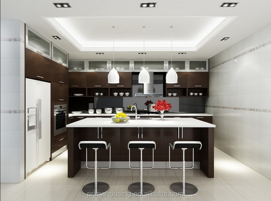 Latest affordable modern kitchen cabinets china made for Affordable modern kitchen cabinets