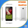 mtk6582 android quad core 1.3ghz ips 3g wcdma 850/1900 8mp camera android mobile phone