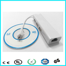 White AX88772A wired network usb ethernet wifi adapter