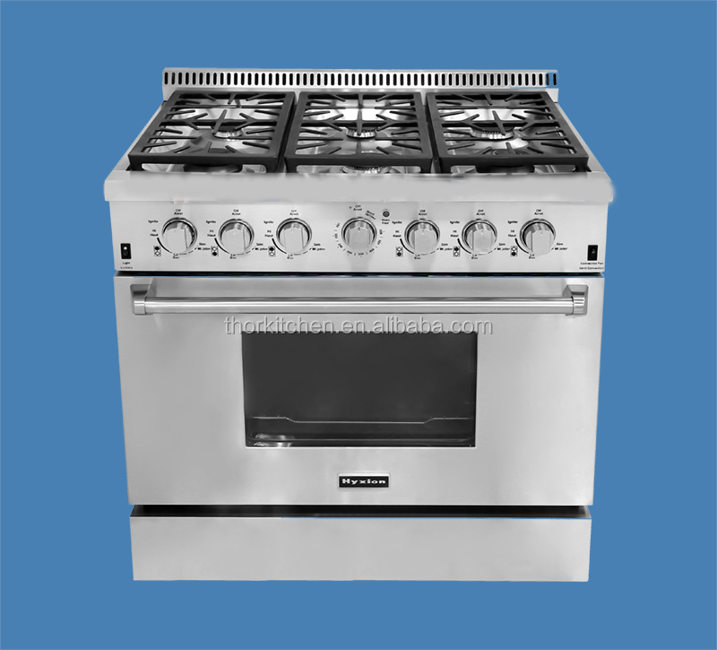 Countertop Gas Stove And Oven : Inch Counter Top Gas Cooker With Oven & Burners - Buy 36 Range ...