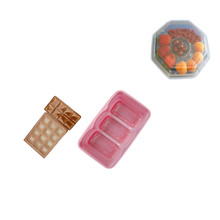 Custom factory price PET blister plastic packing box for fruits,plastic chocolate tray