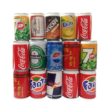 Portable Beer Cans Mini Speaker Support TF Card FM USB Stereo Music Player Speakers For Mp3 iPhone 6 Samsung Cell Phone