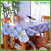 2015 popular high quality Non-woven petal overlay table cloth