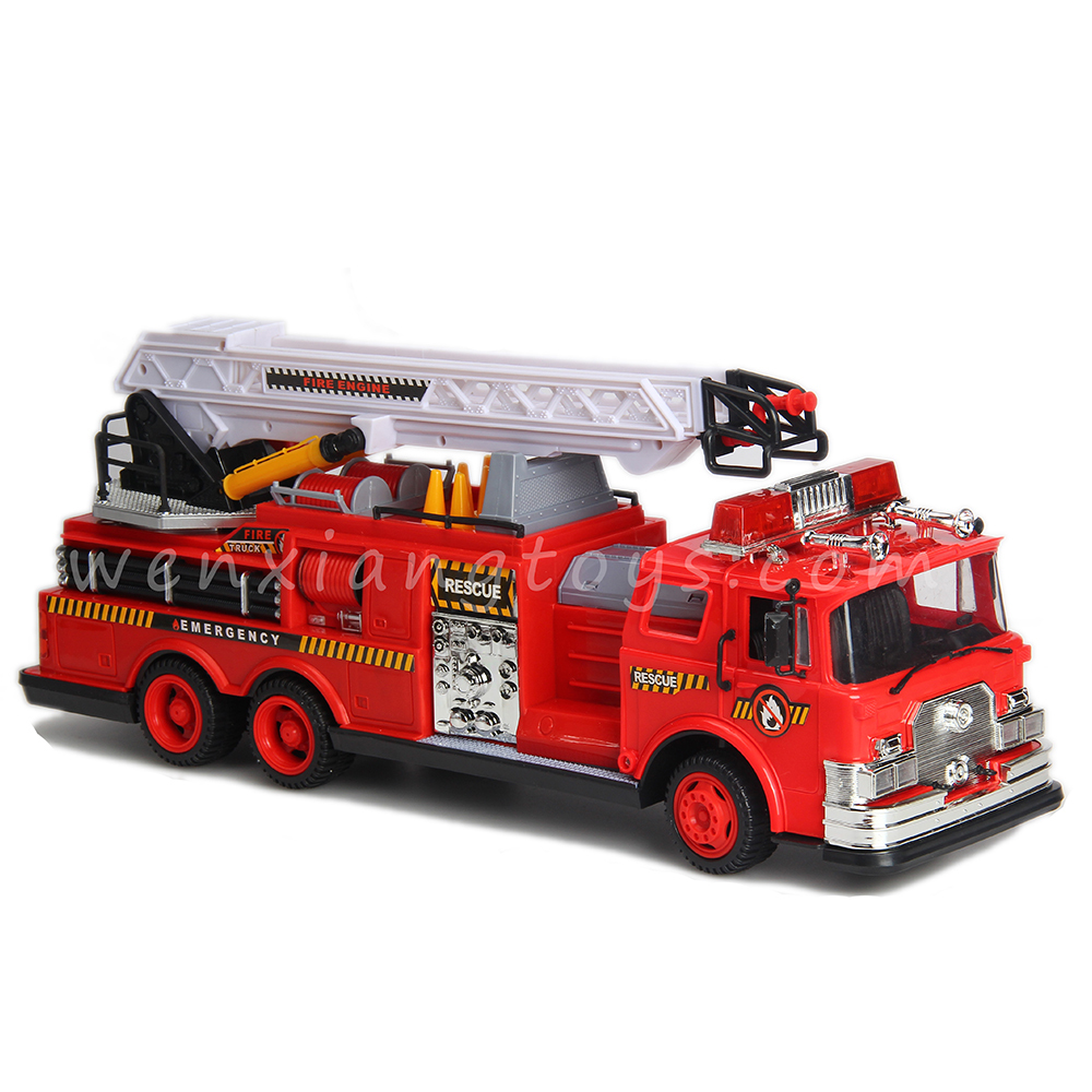 Remote Control Fire Truck Rc Toy Fire Trucks Radio