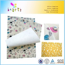 Beauty printed color felt