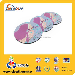 Gifts and premiums purple round shape school promotional fridge magnets