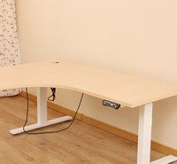 USA office electric motorized height adjustable table with low price