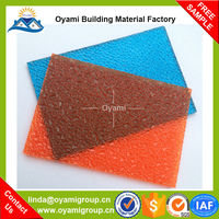 Factory direct supply fadeless car canopy polycarbonate materials