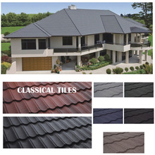 Easy Installation Stone Coated Roof Tile Color Roof with Price