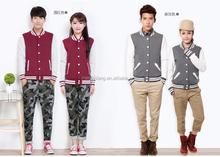 Casual Cotton/Polyester Varsity Jackets / Basketball Sweatshirt