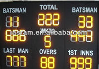 sales product programmable tennis/badminton/football led digits scoreboard