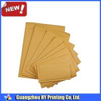 DL C4 heavyweight gold kraft paper interoffice envelopes