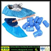 blue shoe cover disposable