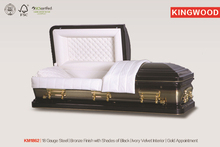 KM1862 funeral coffins metal funeral caskets wholesale distributor import cheap goods from china