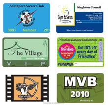 Customised design PVC/Paper vip calling card