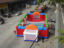 Football basketball volleyball multifunction inflatable play area
