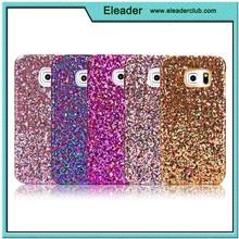 for samsung galaxy s6 edge hard case glitter