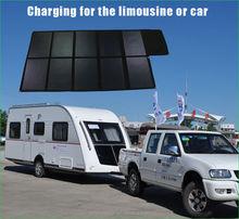 300W sunpower high efficiency folding solar charger for car/boat/yacht battery