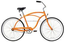 "26"" Male Beach Cruiser XR-B2617 Orange cruiser bicycle beach bicycle"
