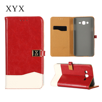 Best sale Pretty girls' Book style flip cover for samsung galaxy s3 s4 s5 s6 s6 edge note 2 3 4 j4 j5 j7