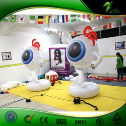 Lovely Giant Inflatable Single Eye Cartoon For Promotion, Advertising Or Exhibition