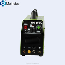 Guangdong famous brand New mosfet TIG welding 160A 110v/220V inverter argon arc welding machine specifications price