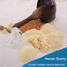 With ISO9001 HACCP OU BRC FDA Dehydrated Natural Garlic