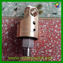 """OEM high precision 3/8"""" BSP water rotary coupling joint, swivel coupling rotary joint"""