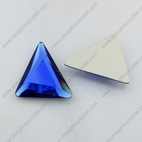 High quality flat back silver plating for garment