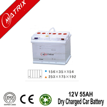 car batteries charged dry battery for cars