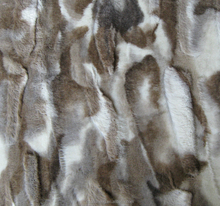 wholesale polyester fake wolf fur fabric for winter clothes