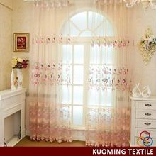 Popular best sell 20d twist embroidery curtain fabric