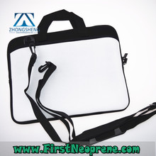 Hot Sales White Style Custom Neoprene Laptop Bag